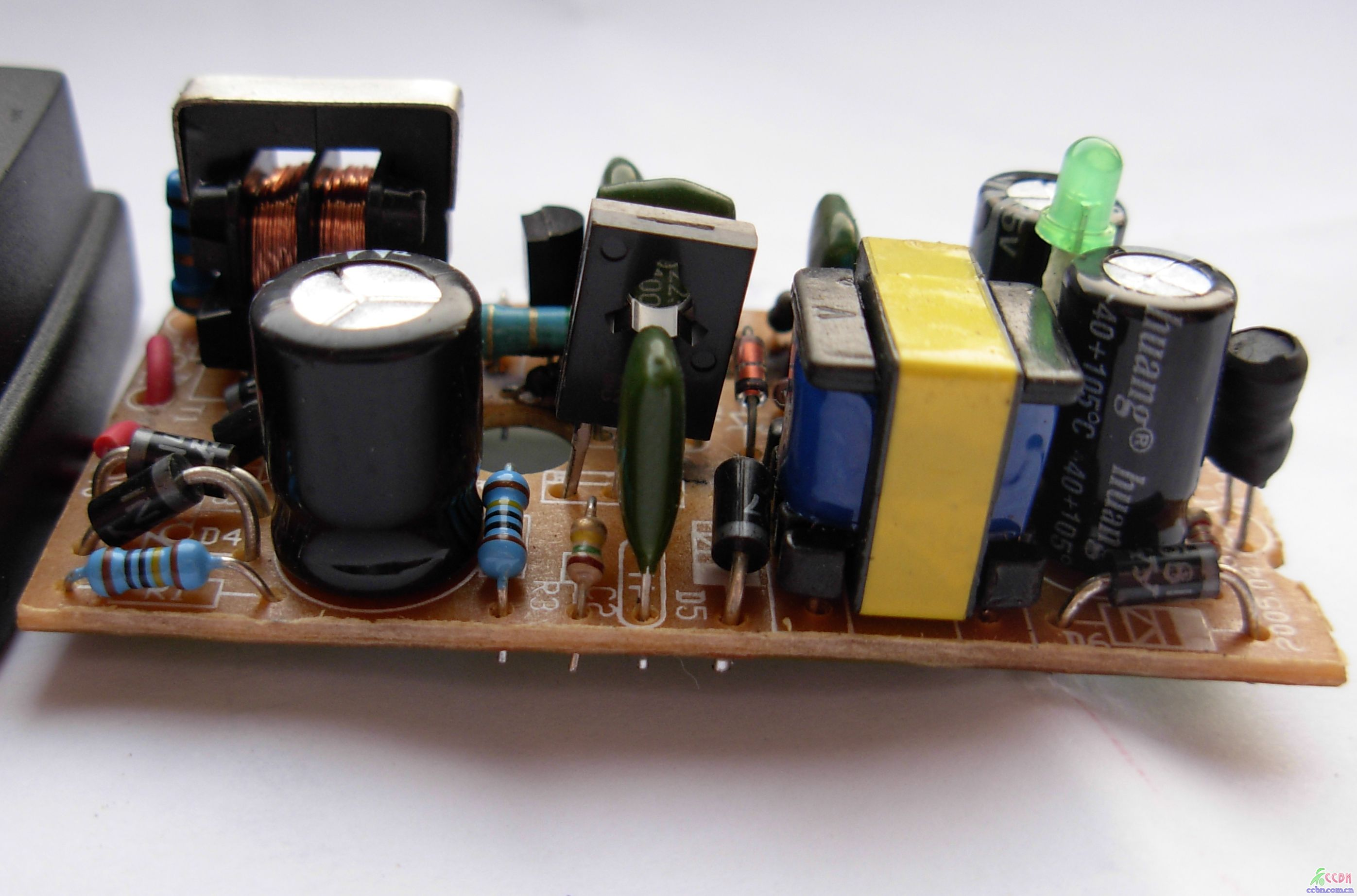 求助,ac220v转dc12v 0.3a电源盒电路图 电子电路 有线电视高清图片